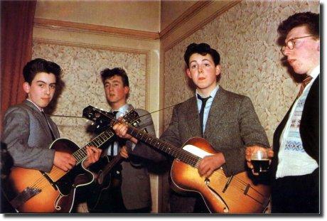 John Lenon, Paul, Beatles 1958 ainda crianças