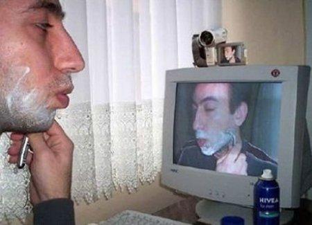 Câmera como espelho