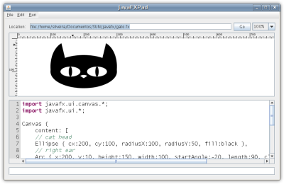 Gato em JavaFX