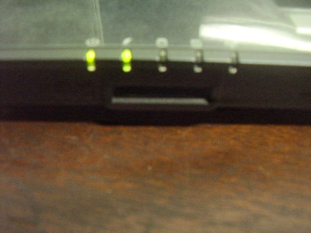 leds incicadores e leitora de cartão SD e MMC