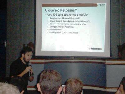 Silveira Neto palestra sobre Netbeans