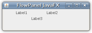 JavaFX FlowPanel