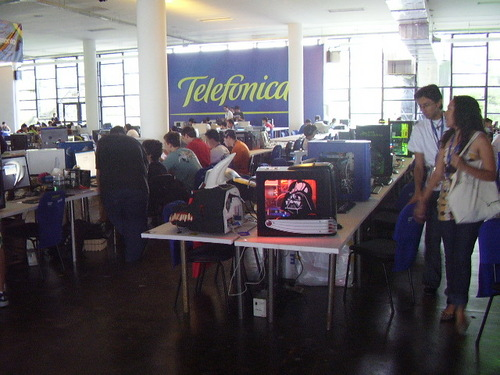 case modding in Campus party Brasil