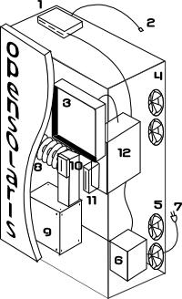Conceptual sketch of the opensolaris vending machine