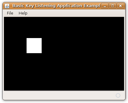 Java KeyListening Example