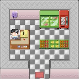 mini mall pixel art open tileset
