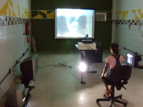 video instalação