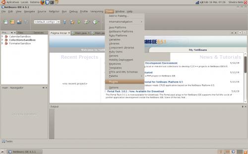 netbeans javafx linux step01