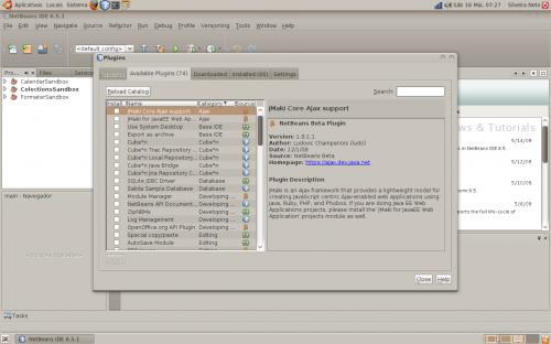 netbeans javafx linux step02