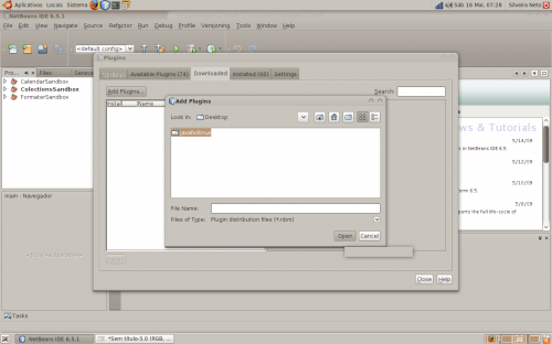 netbeans javafx linux step 04