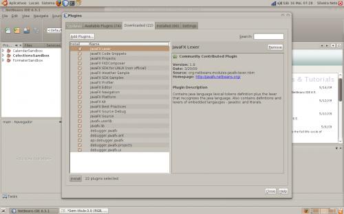 netbeans javafx linux step 05
