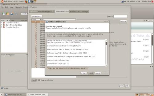 netbeans javafx linux step 7
