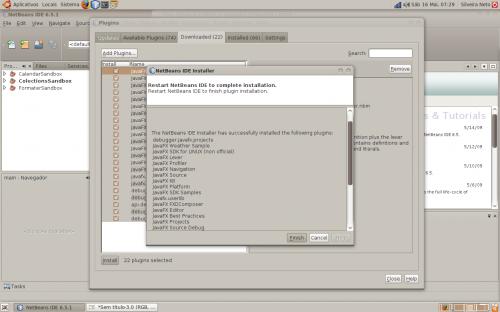 netbeans javafx linux step 9