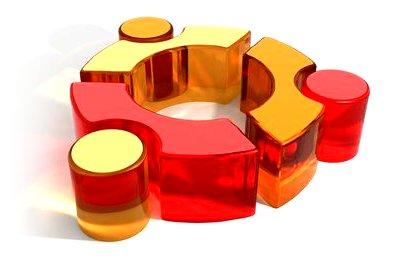 ubuntu glass logo