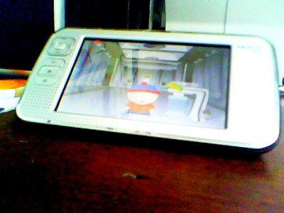 southpark running on Nokia n800