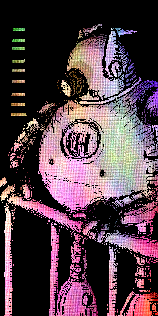 hugo sketch texture